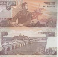 COREA KOREA  BANCONOTA FDS 10  WON 1998 - Corea Del Nord