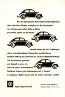 Original-Werbung/Inserat/ Anzeige 1961 1/1-SEITE - VW KÄFER - Ca. 240 X 160 Mm - Publicités