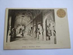 ROMA VATICANO MUSEO - CARTES POSTALES COMMEMORATIVES ANNEE SAINTE 1900 - Musei