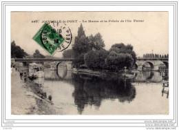 Cpa Joinville Le Pont (94) La Marne Et La Pointe De L Ile Fanac - Cpa94 - 1918 - Joinville Le Pont