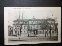 MONTBÉLIARD - 25 - CPA DOS SIMPLE DE 1903 - L'hôtel De Ville - CPA - - Montbéliard