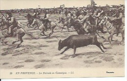 39 - EN PROVENCE - LA FERRADE EN CAMARGUE ( Animées ) - Non Classés