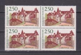 FRANCE / 1991 / Y&T N° 2705 ** (4 TP En Bloc) : Carennac - Gomme D´origine Intacte - France