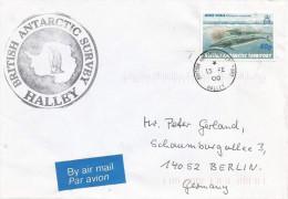 BAT British Antarctic Territory 2000 Halley Minke Whale Cover - Brits Antarctisch Territorium  (BAT)