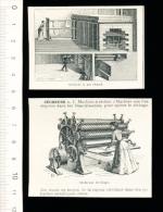 Doc-Coupure De 1904 / Sécheuse De Linge Séchoir / Blanchisserie ( Blanchisseuse Au Travail )  // VP 144/3 - Old Paper