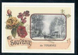 83  TOURVES    ...... Gare Souvenir Au Fusain Creation Moderne Série Limitée Et Numerotée 1 à 10 ... N° 2/10 - France