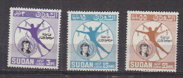 D0232 - SOUDAN Yv N°168/70 ** ELEANOR ROOSEVELT - Soudan (1954-...)