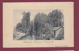 36 - 200414 - CHATEAUROUX - Vue Prise Du Pont De Fer - - Chateauroux