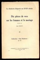 Jean HAUST - Dix Pièces De Vers Sur Les Femmes Et Le Mariage. - Belgique