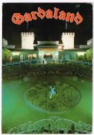 M1994 Castelnuovo Del Garda (Verona) - Gardaland - L´Orologio - Notturno Notte Nuit Night Nacht Noche / Viaggiata 1987 - Italia