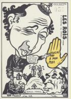Jacques Lardie Tirage Limitée 100 Exemplaires N°50 Mitterand, Pisani  Et Fabius Nouvelle Calédonie - Illustrateurs & Photographes