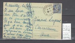 Lettre Cachet  Ambulant   Sarrebruck à Metz - Indice 12 - Postmark Collection (Covers)