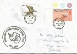 BAT British Antarctic Territory 1995 Halley Desmonema Marine Life Penguin Gastropod Snail Cover - Brits Antarctisch Territorium  (BAT)