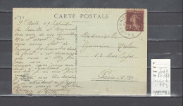 Lettre Cachet  Ambulant    Sarrebruck  à Metz -Alsace -L - Indice 7 - Postmark Collection (Covers)