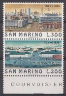 Saint-Marin Mi.nr.:1097-1098 Weltstädte Tokio 1975 Neuf Sans Charniere / Mnh / Postfris - Neufs