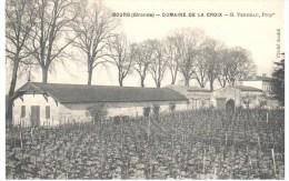 33 BOURG SUR GIRONDE DOMAINE DE LACROIX  VERDEAU - Sin Clasificación