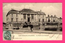 Les Sables D'Olonne - Le Palais De Justice - Animée - A. ROBIN - 1904 - Précurseur - Sables D'Olonne