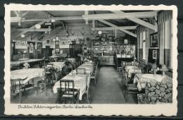 """CPSM  S/w AK Berlin Lamkwitz 1950 """" Gaststätte,Lokal -Pichlers Viktoriagarten,Leonorenstr. """"1 AK Used,bef. - Lankwitz"""