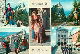 Costumes, San Marino Postcard - San Marino