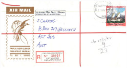 (466) Papua New Guinea Registered Cover Posted To Australia - 1994 ? - Papouasie-Nouvelle-Guinée