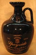 BOUTEILLE VIDE SANS BOUCHON SPEYSIDE DISTILLERY & BONDING WHISKY GLASGOW & INVERNESSHIRE SCOTLAND IMPORTE PAR CORADE - Whisky