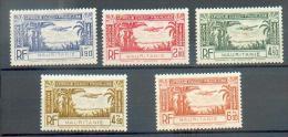 MAU 253 - YT PA 1 à 5 * - Mauritanien (1906-1944)