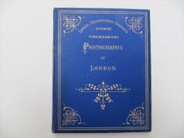 Photographs Of  LONDON -  Bel Album Composé De 12 Photos Montées Sur Onglet - Photos