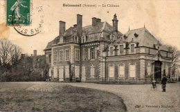 """80  BOISMONT ( Somme )  Le Château     """" état """" - France"""