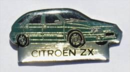 Pin's CITROEN ZX - D637 - Citroën