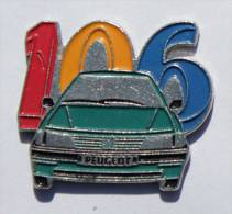 Pin's PEUGEOT 106 - Pins Up  - D642 - Peugeot