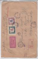 Lituanie - Lettre Recommandée De  1930 ° ?? - Valeur Déclarée - Oblitération Kaunas -  Exp Vers La Belgique -chevaux