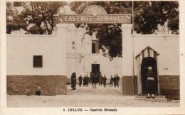 CPA  -  DELLYS  ( Algérie )  Caserne  Renault  -  1er  R.T.A - Algérie