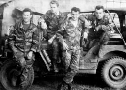 146 >> PHOTO ALGERIE >> 3ème Régiment De Parachustistes Année 1957-58 - Veicoli