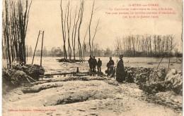 SAINT AUBIN SUR YONNE - CEZY Inondations - France