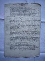 Papier Pré Timbré Fiscal  Extrait De Testament  1652 Montpellier  4 Pages - Documents Historiques