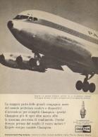 # CHAMPION SPARK PLUG 1950s PAN AM AIRLINES Car Italy Advert Pub Reklame Bujìas Candele Zundkerze Bougie - Advertisements