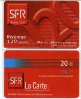 @+ Lot De 2 Recharges SFR De La Réunion - Reunion