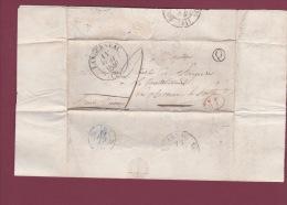 MARCOPHILIE - 200414 -  LANDERNEAU ( Finistère) - Type 13 + Boite Rurale Q Identifiée Au Rumain - 1801-1848: Précurseurs XIX