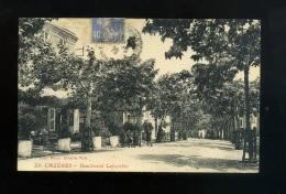Cpa  31 Cazères  N° 29  Boulevard Lafayette  Edit. Bazar Hôtel De Ville - Autres Communes