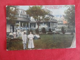 Israelite Colony View Benton Harbor MI  1911 Cancel   Ref 1300 - United States