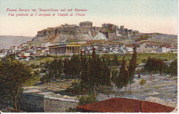 CPA Athènes - Vue Générale De L'Acropole Et Temple De Thésée - 1915 (3327) - Grèce