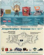 Russia. History Of Saint Petersburg. Camera. Appareil Photographique. Iron. Fer A Repasser. 30 Ut - Russie