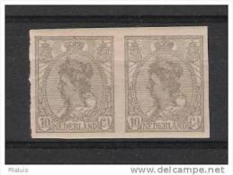 00173 Niederlande Michel Nr. 111 * Im Paar , Yvert 106 A Kat. 20,- Eur - Period 1891-1948 (Wilhelmina)