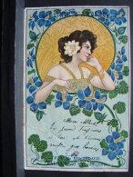 CP. 641. Elixir D'Anvers. . F.X De Beukelaer. Balsam Vin Au Quinquina. Dessin Type Alphonse Mucha - Antwerpen