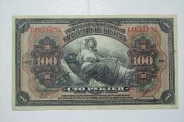 Billet Russe 1918 : 100 Roubles Très Très Bon état - Russia