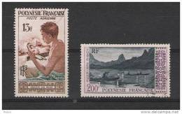 00225 Colonias Francesas Polynesia Correo Aereo Yv. 1 / 4 O Cat. 24,80 Eur - Polynésie Française