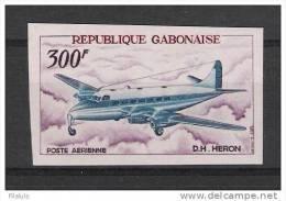 00226 Colonias Francesas Rep. Gabon Correo Aereo Yv. 53 Sin Dentar ** - Gabon (1886-1936)