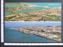 VISTA AEREA NORTE E SUL - FIGUEIRA DA FOZ - 2 Scans (Nº06312) - Coimbra