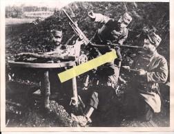 Argonne Meuse Mitrailleuse St étienne Dca Photo Commémorative Us 1939  WWI Ww1 14-18 1.wk 1914-1918 Poilus - War, Military
