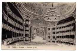 CP, 75, PARIS, L'Opéra, Intérieur, Voyagé En 1918 - Autres Monuments, édifices
